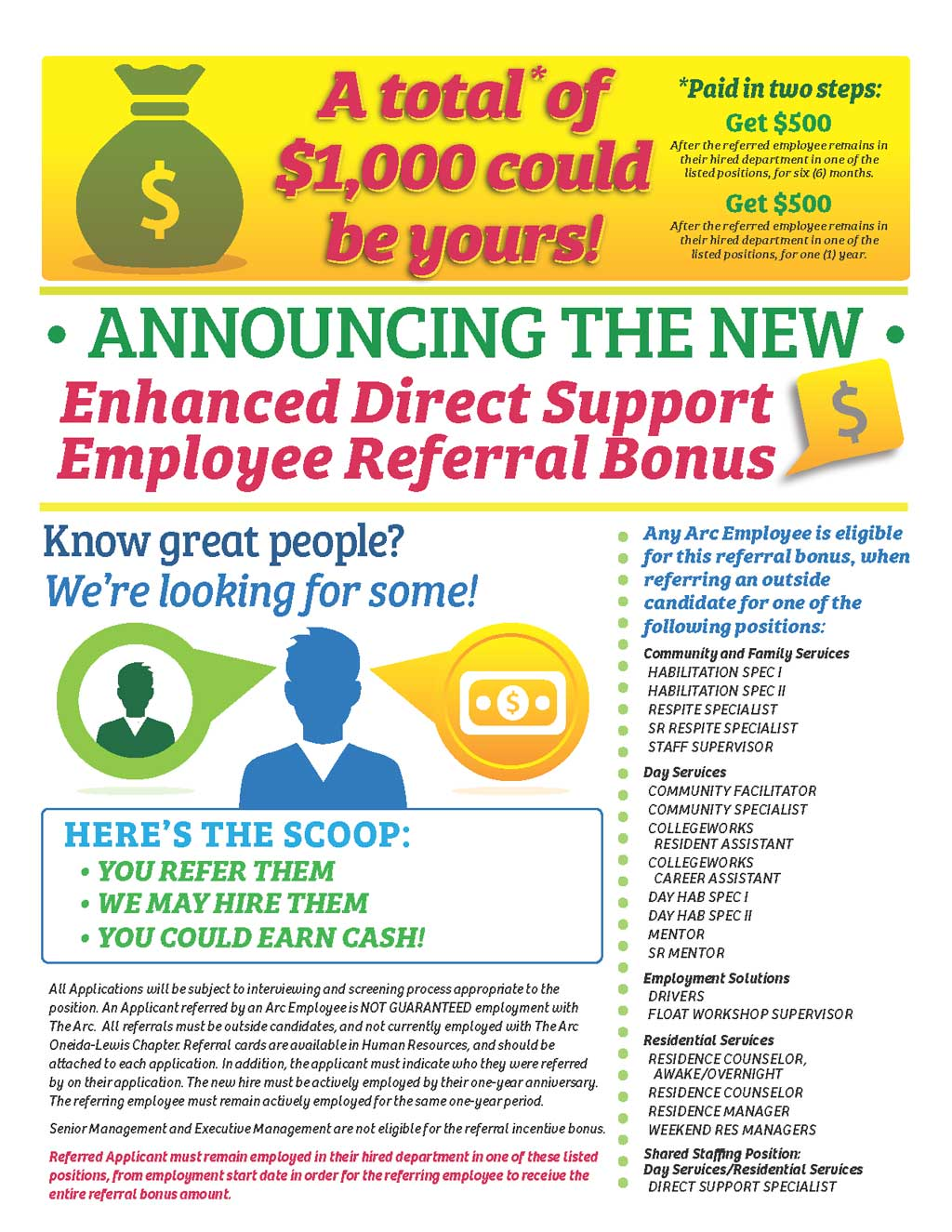 referral flyer template